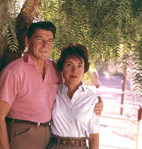 Ronald Reagan and his wife Nancy1965 © 1978 Gene Trindl - Image 0871_1799
