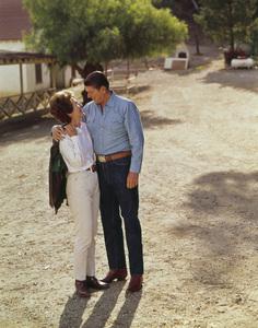 Nancy and Ronald Reagan at Rancho del Cielocirca 1970 © 1978 John Engstead - Image 0871_1820