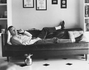 Jack Lemmon at home circa 1956 © 1978 Sanford Roth / AMPAS - Image 0894_0168