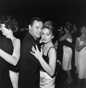 Jack Lemmon and Felicia Farr at the Directors Guild Awards held at the Beverly Hilton Hotel1961 © 1978 Sid Avery - Image 0894_0190