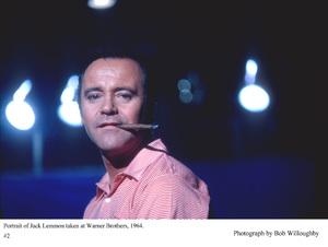 Jack Lemmon photographed atWarner Bros. Studios, 1964. © 1978 Bob Willoughby - Image 0894_0222