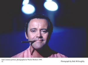 Jack Lemmon photographed at Warner Bro., 1964. © 1978 Bob Willoughby - Image 0894_0223