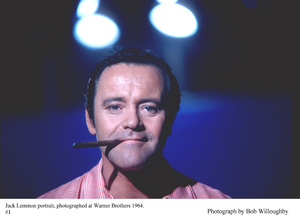Jack Lemmon photographed at Warner Bro., 1964. © 1978 Bob Willoughby - Image 0894_0223