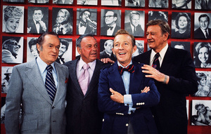 John Wayne, Bob Hope, Frank Sinatra, and Bing Crosby, 1970. © 1978 David Sutton - Image 0898_0032