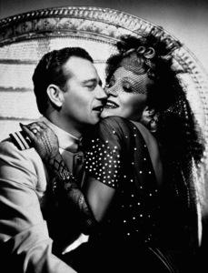 "John Wayne and Marlene Dietrichin ""Seven Sinners,"" Universal 1940. - Image 0898_0391"