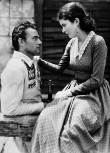 "John Wayne and Marguerite Churchill in ""The Big Trail,"" 20th Century Fox 1930 - Image 0898_0392"