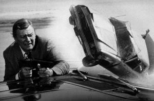 """John Wayne in """"McQ,"""" Warner Bros. 1974. - Image 0898_0773"""