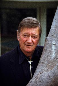 John Wayne at home, 1972. © 1978 David Sutton - Image 0898_0851