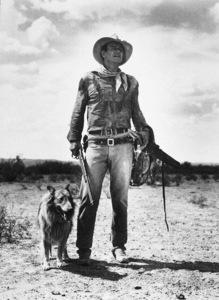"John Wayne in ""Hondo,"" Warner Bros. 1954. © 1978 Bud Fraker - Image 0898_0879"