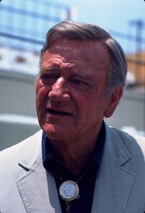 John Wayne, 1977. © 1978 Ulvis Alberts - Image 0898_0941