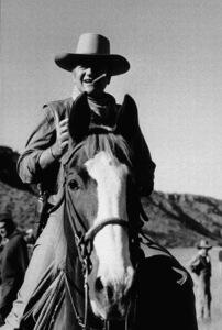 """John Wayne in """"Chisum,"""" Warner Bros. 1969. © 1978 David Sutton - Image 0898_1137"""