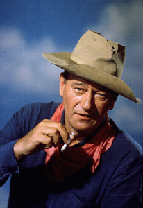 John Wayne, c.  1963.Photo by Paul Hesse. - Image 0898_2004