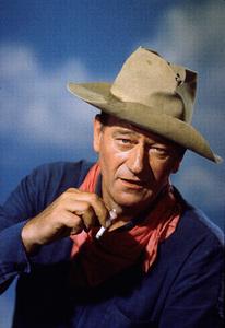 John Wayne, c.  1963.Photo by Paul Hesse. - Image 0898_2004