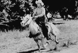 "John Wayne in ""New Frontier,"" Republic 1939. - Image 0898_2007"