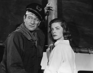"John Wayne and Lauren Bacall in ""Blood Alley"" 1955 Warner Brothers - Image 0898_2026"