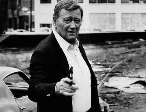 """John Wayne in """"McQ,"""" Warner Bros. 1974 - Image 0898_2034"""