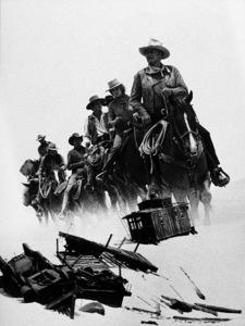 "John Wayne, Ann-Margret, Ben Johnson, and Bobby Vinton in ""The Train Robbers,"" Warner Bros. 1973. - Image 0898_2036"