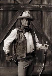"John Wayne in ""The Cowboys""1971 Warner Brothers© 1995 Bob Willoughby - Image 0898_2081"