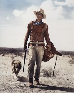 """John Wayne in """"Hondo"""" 1953 Warner BrothersPhoto by Bud Fraker - Image 0898_3003"""