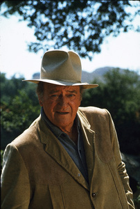 John Wayne, 1973. © 1978 David Sutton - Image 0898_3067
