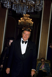 John Wayne arriving at the 42nd Annual Academy Awards, 1970. © 1978 David Sutton - Image 0898_3097
