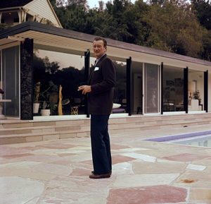 John Wayne at home on Louise Street in Encino, California1958 © 1978 Bernie Abramson - Image 0898_3115