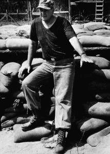 "John Wayne in ""The Green Berets,"" Warner Bros. 1967. © 1978 David Sutton - Image 0898_3150"