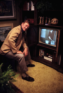 John Wayne at home, 1972. © 1978 David Sutton - Image 0898_3170