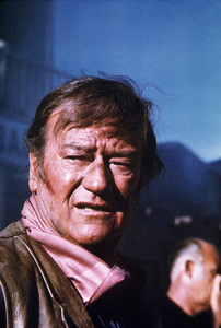 """John Wayne in """"Chisum,"""" Warner Bros. 1969. © 1978 David Sutton - Image 0898_3189"""