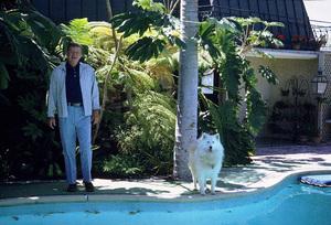 John Wayne at home, 1972. © 1978 David Sutton - Image 0898_3230
