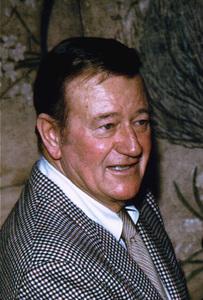 John Wayne at home, 1970. © 1978 David Sutton - Image 0898_3252