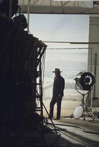 "John Wayne on the set of ""The Cowboys""1972 Warner Brothers © 1978 David Sutton - Image 0898_3327"