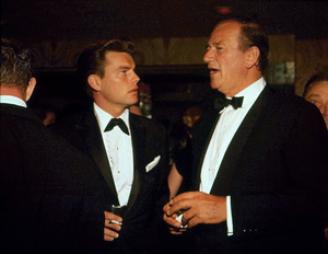John Wayne and Robert Wagner, circa 1960. - Image 0898_3345