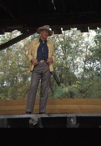 John Wayne during a photo shoot for a Great Western Savings advertisement1977 © 1978 David Sutton - Image 0898_3381