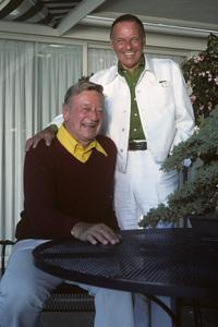 John Wayne and Frank Sinatra1976** H.L. - Image 0898_3412