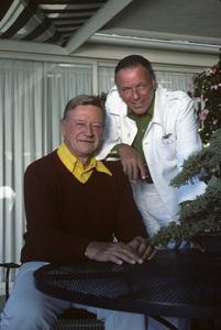 John Wayne and Frank Sinatra1976** H.L. - Image 0898_3413