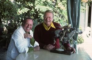 John Wayne and Frank Sinatra1976** H.L. - Image 0898_3414