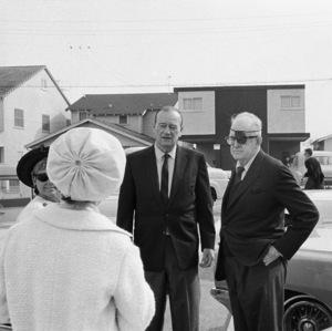 John Wayne and John Ford1966 © 1978 Bernie Abramson - Image 0898_3416