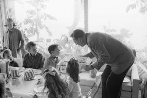 John Wayne at his son Ethan