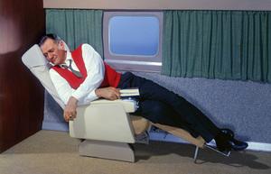 John Wayne for an airline advertisementcirca 1950s© 1978 Paul Hesse - Image 0898_3434