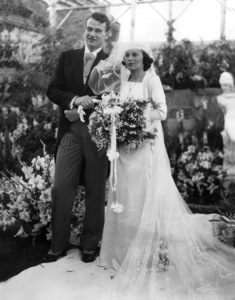 John Wayne with his bride, Josephine Saenz (wedding was held at the home of actress, Loretta Young) 1933** I.V. - Image 0898_3436