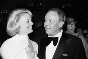 """An All-Star Tribute to John Wayne""Barbara Marx Sinatra, Frank Sinatra1976© 1978 David Sutton - Image 0898_4001"