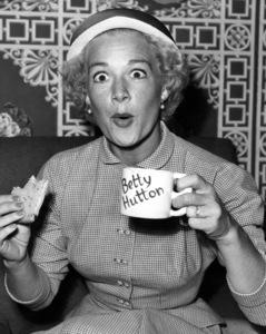"Betty Hutton from ""Lux Radio Theatre""circa 1950Photo by Gabi Rona - Image 0918_0019"