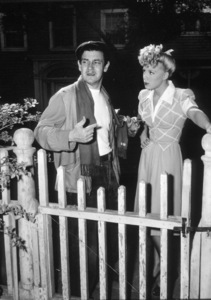 """Preston Sturges and Betty Hutton in""""Miracle Of Morgan"""