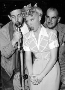 """Betty Hutton and Preston Sturges in""""Miracle Of Morgan"""