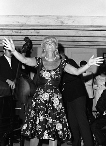 Betty Hutton performing at a partycirca 1960s © 1978 David Sutton - Image 0918_0027