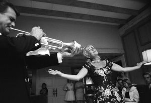 Betty Hutton performing at a partycirca 1960s © 1978 David Sutton - Image 0918_0028