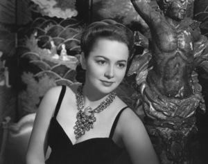 Olivia de HavillandCirca 1950 © 1978 Paul Hesse - Image 0925_0002