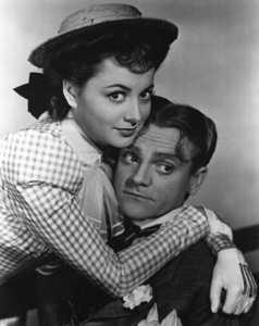 "Olivia De Havilland,James Cagney""Yankee Doodle Dandy""1942 - Image 0925_1003"