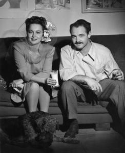 Olivia de Havilland and photographer Tom Kelleycirca 1950s© 1978 Tom Kelley - Image 0925_1036